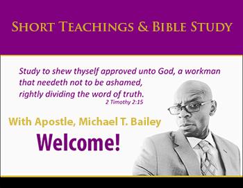 Mid-Week Bible Study